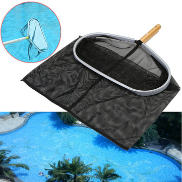 Heavy Duty Swimming Pool Skimmer Leaf Rake Mesh Net 18inch Aluminum Frame