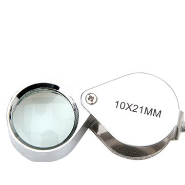10x 21mm Jewelers Magnifier Loupe Magnifying Glass loupe