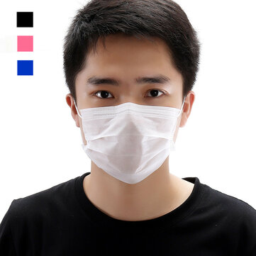20pcs Disposable Face Mask Doctor Masks Sterilized Anti Dust Virus 3 Layer