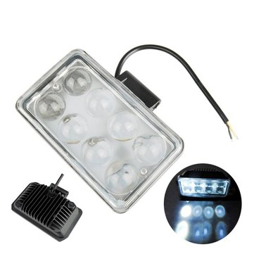 Car 4inch 8LED 3W 1500LM LED Light Fog Light Working Lamp Flood Spot Lightt