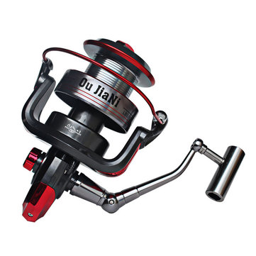 Bobing 13+1BB Super Long Shot Fishing Wheel 9000-11000 Series Metal Spinning Fishing Reel