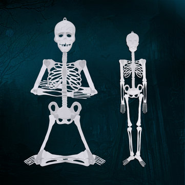 90cm / 150cm Halloween Prop Luminous Human Skeleton Hanging Decorations