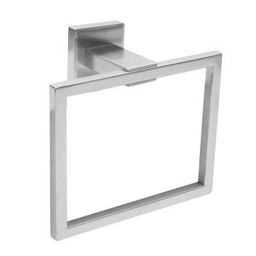 Rechthoek Handdoekhouder Rail Chrome Muurbevestiging Vierkante ...