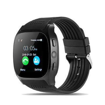LYNWO T8 1.54-inch MTK6261D bluetooth Pedometer TF Card Extend GSM Smart Watch Phone