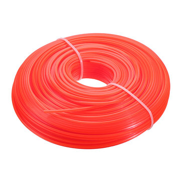 Drillpro 2.4/3mm 139 Grass Trimmer Head Line Nylon Cord Wire Round String Strimmer Brush Cutter Line
