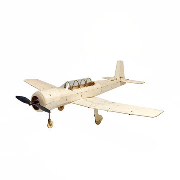 MinimumRC CJ-6 450mm Wingspan Balsa Wood Laser Cut RC Airplane KIT
