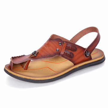 Men Casual Sandals Cool Slippers Beach Shoes