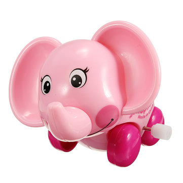 Chain Baby Walking Elephant Super Sprouting Animal Wind Up Children Educational Toys