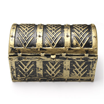 Vintage Pirate Jewelry Storage Box Holder Treasure Chest Gift Box Bag For Necklace Bracelets