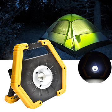 10W 3 Modes USB Rechargeable Portable LED Spotlight / COB Floodlight Camping Lantern Light Outdoor