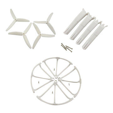 Propellers Protection Cover & Landing Gear Set For Hubsan H502S RC Quadcopter