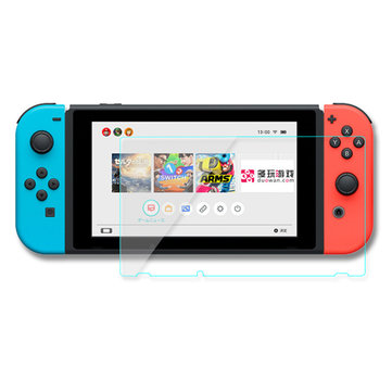 9H 2.5D Tempered Glass Clear Screen Protector Film Guard Shield For Nintendo Switch