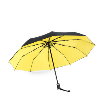 Double Layers Automatic Umbrella 10 Ribs Sunny Rainy Umbrellas Aluminum Windproof Waterproof UV Parasol for Man Woman