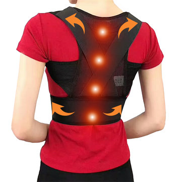 Adjustable Posture Corrector Hunchbacked Support Lumbar Pad