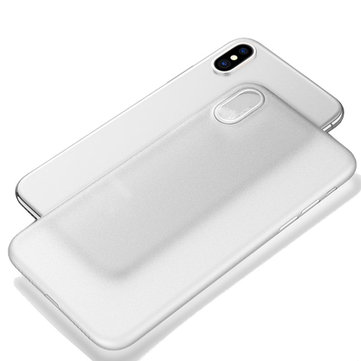 PP Ultra Thin Anti Fingerprint Protective Case for iPhone X