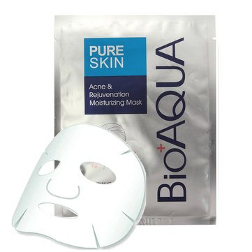 1pc BIOAQUA Facial Mask Moisture Removal Of Acne Nutrition Essence Sheet Skin Care