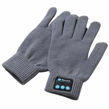 Winter Smart bluetooth Gloves Touch Screen Mobile Headset Speaker Hand Gesture Talking Gloves