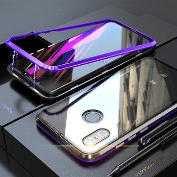 Bakeey 360 ° Magnetic Adsorption Metal Glass Versión mejorada de protección Caso para Xiaomi Mi8 Mi 8