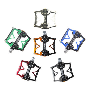 SHANMASHI Aluminum Alloy Bike Bicycle Pedal Ultralight Professional 3 Bearing Mountain Bike Pedal