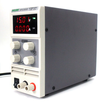 Wanptek KPS1505DF 15V 5A LED Digital Adjustable Switch DC Power Supply MA Display