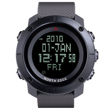 NORTH EDGE TANK 50M Waterproof Military Men Sport Watch