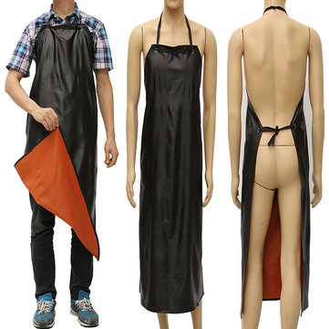 Waterproof PVC Coated Apron Kitchen Fishing Garden Butcher Cleaning Wear Unisex