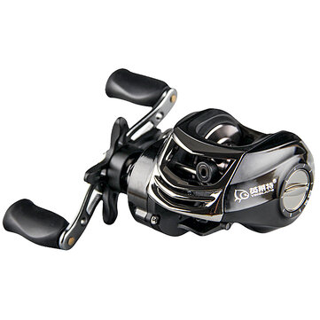 ZANLURE YLT100 6.3:1 10+1 BB Metal Fishing Baitcasting Reel Magnetic Brake Left/Right Hand Reel