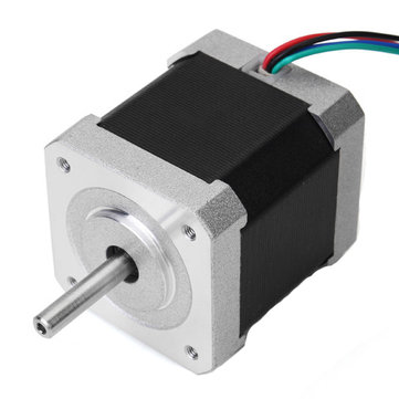 JKM NEMA17 42mm Two Phase 0.9 Degree Hybrid Stepper Motor 48mm Length 1.5A For CNC Router