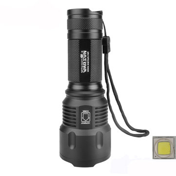 Warsun X50 XM-L2 3Modes 1200LM Zoomable LED Flashlight 18650