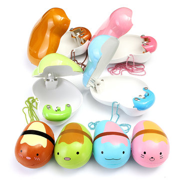 Eric Squishy Pokebean Slow Rising Hard Case Pop Out Bean Kawaii Cute Charm Collection Gift Decor Toy