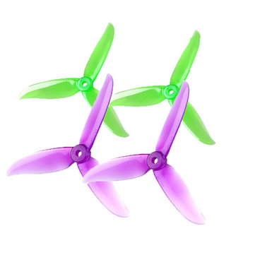 2 Pairs DALPROP T5045C CW CCW 3-blade propeller For RC Multirotor FPV Racing Drone