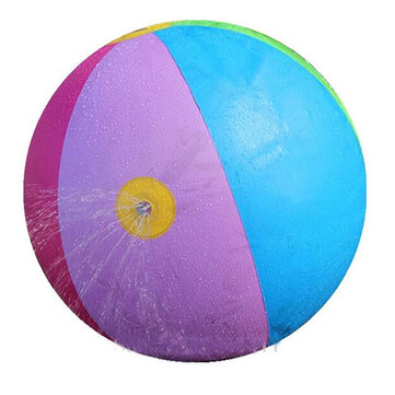 Summer Children's Outdoor Swimming Beach Ball Inflatable Ball Water Fountain Ball