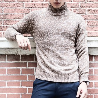 Warm Thick Sweater Pullover Slim Fit Knitted Pullovers