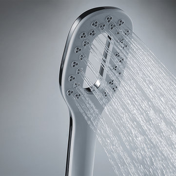 GAPPO G24 Square Hollow out Handheld Bathroom Accessories ABS Chrome Plated Water Saving Shower Head
