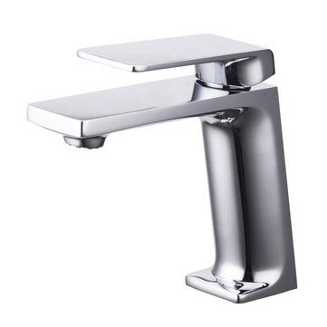 Modern Chrome évier mitigeur monocommande de salle de bain cuisine robinet d'eau froide chaude robinet