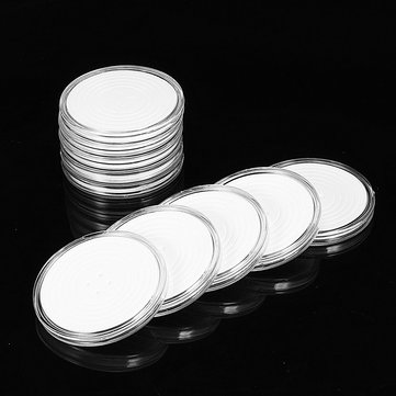 10Pcs Zodiac Commemorate Coin Silver Dollar Coin Collection Round Box 29mm-39mm Coin Holder