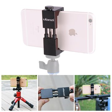 ulanzi Clamp Mount Fixed Holder 6.5cm-9.5cm For 4.7-6.5 Inch Smartphone Mobile Compatible Microphone
