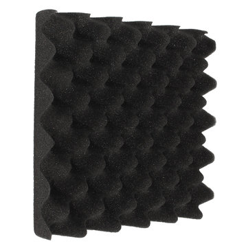 25x25x5cm Soundproofing Triangle Sound-Absorbing Noise Foam Tiles