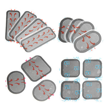 KALOAD Silicone Gel Pads Set Slimming Belt Abdominal Replace Adhesive Gel Pads Hip Trainer Pads