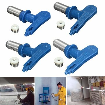 2 Series 11-17 Blue Airless Spray Gun Tips For Wagner Atomex Titan Paint Spray Tip