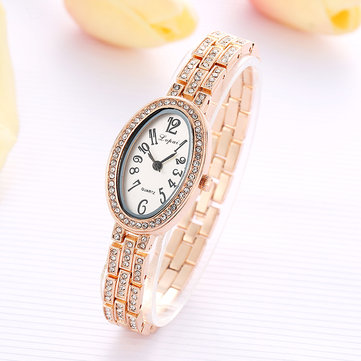 LVPAI P134 Retro Style Crystal Dress Ladies Bracelet Watch Fashionable Quartz Watches