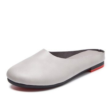 Grande Taille Chaussures Plates En Cuir zqeHGYm