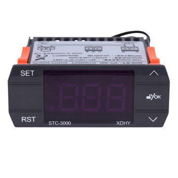 STC-3000 110V 220V Touch Digital Temperature Controller Thermostat 10A 30A Instruments with Sensor