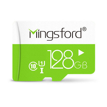 Mingsford Colorful Edition 128GB Class 10 TF Memory Card