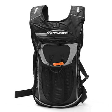 5L Motorcycle Hydration Pack Shoulder Backpack with 2L Water Bag Cycle Hiking