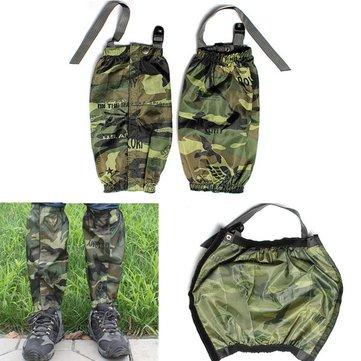 Waterproof Racing Walking Hiking Gaiters Camouflage Boots Covers