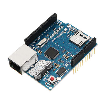 Geekcreit® Ethernet Shield Module W5100 Micro SD Card Slot For Arduino UNO MEGA 2560