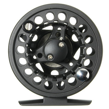 ZANLURE 3/4WT 3inches Fly Fishing Reel and Fly Line Combo Large Arbor Aluminum Fly Fishing Accessories