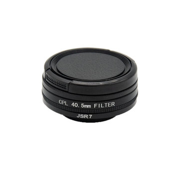 SJCAM Accessories 40.5mm CPL Filter Lens Cap for SJCAM SJ7 STAR Action Camera Lens Protector