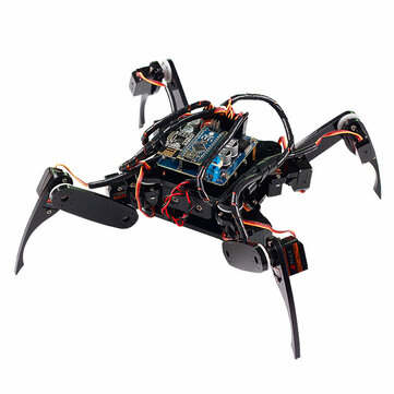 $107.94 For SunFounder Wireless Telecontrol Crawling Quadruped Robot Kit